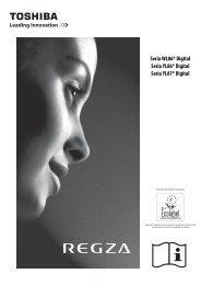Seria WL86* Digital Seria YL86* Digital Seria ... - Toshiba-OM.net