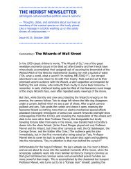 The Wizards of Wall Street - Bill Herbst, astrologer