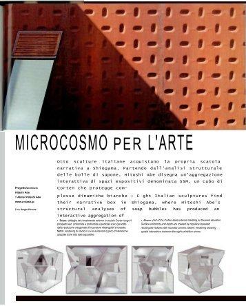 MICROCOSMO PER L'ARTE