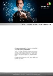Software solution Partner Program - Athena