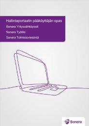 Hallintaportaalin pääkäyttäjän opas (pdf) - Sonera