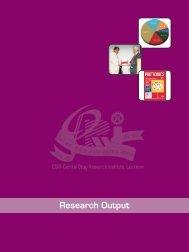 Cover design-1,2,3,4 - Central Drug Research Institute