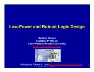 Low-Power and Robust Logic Design - Synopsys