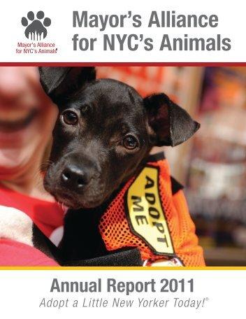 Mayor's Alliance for NYC's Animals - Maddie's Fund