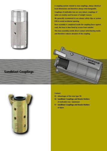 Sandblast Couplings - Luedecke.de