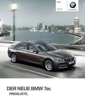 DER NEUE BMW 7er. - Motorline.cc