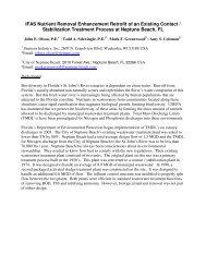 IFAS Nutrient Removal Enhancement Retrofit of an ... - Siemens