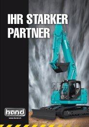 Ihr starker Partner - HAND Baumaschinen AG