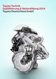 Toyota Technik Qualifizierung & Weiter- bildung