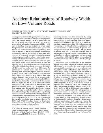 Download Zegeer et al PDF file. - Sonoma County Transportation ...