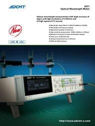 ADCMT 8471 Optical wavelength meter - Rohde & Schwarz