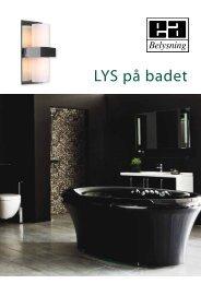 LYS på badet - Elektro Armatur