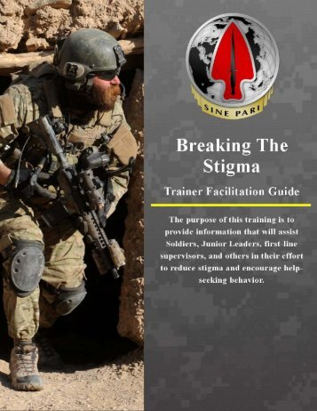 Facilitator's Guide - U.S. Army Special Operations Command