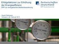 Erfolgsfaktoren für ÖPP-Projekte Maßnahmen zur Erhöhung der