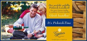 It's Picknick-Time - Gerstner
