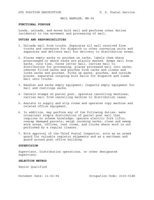 Download File - National Postal Mail Handlers Union Local 303