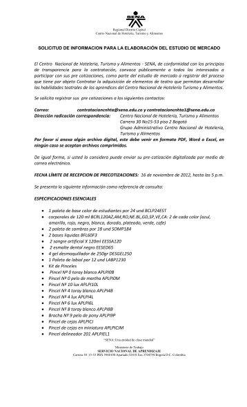 Curriculum Coordinacion De Turismo Hoteleria Y Hospitalidad