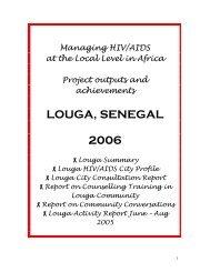 LOUGA, SENEGAL 2006 - UN-Habitat