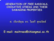 Generation of free radicals, oxidative stress and their damaging ...
