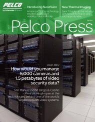 Download Entire Issue (PDF file, 9.7 MB) - Pelco
