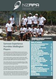 summer quarterly - NZRPA