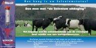 """Doe mee met """"de Selenium uitdaging"""" - Melkveebedrijf"""