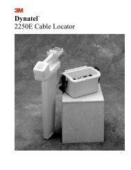 Dynatel™ 2250E Cable Locator