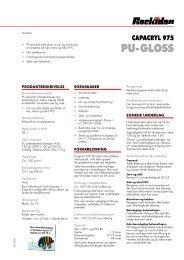 PU-GLOSS - Rockidan