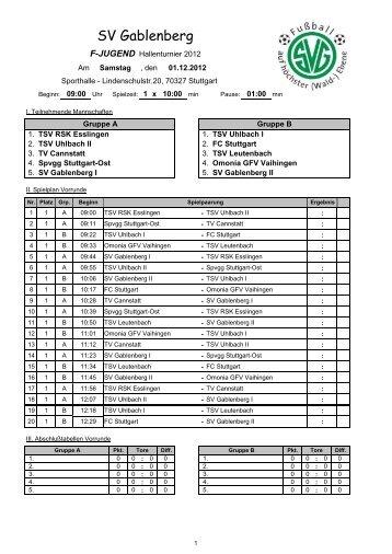 SV Gablenberg - SGM Omonia-1.FCLL04-Vaihingen