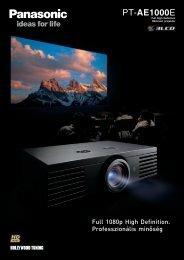 PT-AE1000E - projektorbolt.hu :: projektor