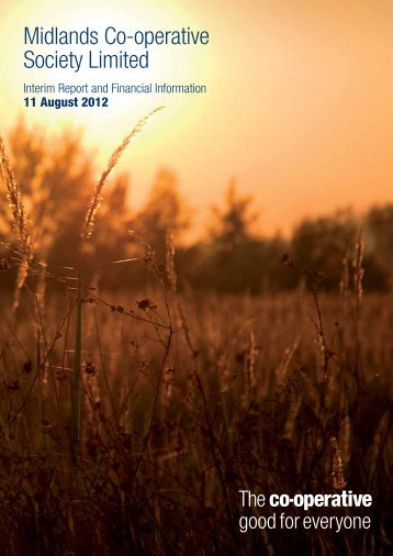 Midlands Co-operative Society Interim Report 2012