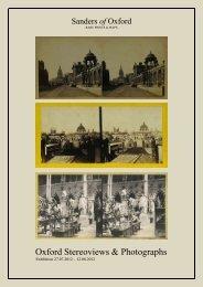 Stereoviews catalogue.pdf - Sanders of Oxford