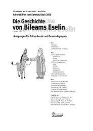 sonntag okuli 2000 - Christoffel-Blindenmission
