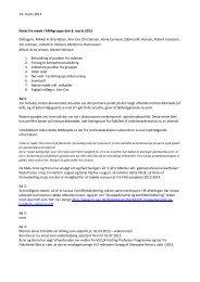 14. marts 2013 Notat fra møde i AMAgruppe den 8. marts 2013 ...