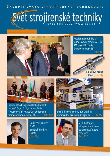 Svět strojírenské techniky číslo 4/2012 (PDF, 5.03 MB) - Svaz ...