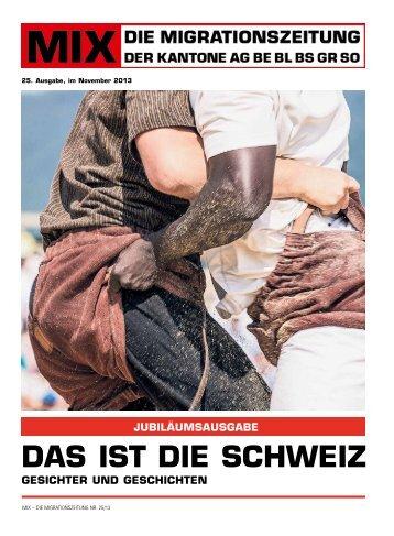MIX 25 als PDF herunterladen - migrationszeitung.ch