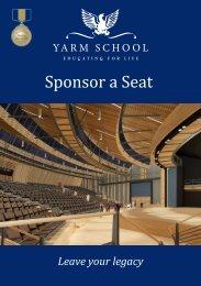 Sponsor a Seat - Yarm School