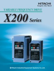 X200 Series Variable Frequency Drive | Industrial ... - Dart Controls