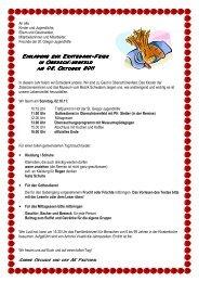 Einladung zur Erntedankfeier 2011 - St. Gregor Jugendhilfe