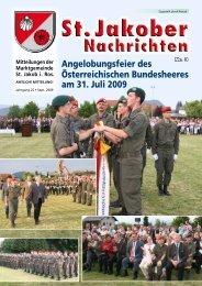 Gemeindezeitung 03/09 (2,26 MB) - St. Jakob im Rosental