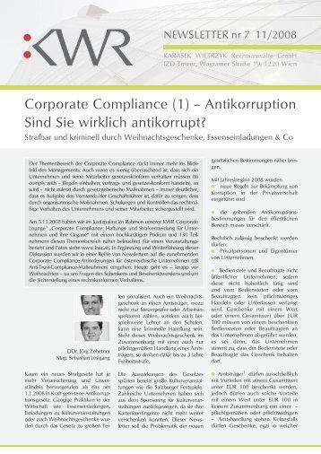 Newsletter nr 7 11/2008 - KWR
