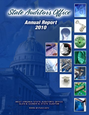 2010 Annual Report - West Virginia State Auditor's Office