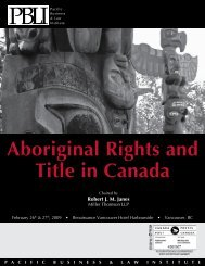 Aboriginal Rights and Title in Canada - Miller Thomson