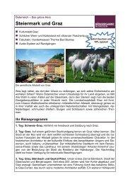 Steiermark und Graz - Twerenbold Reisen AG