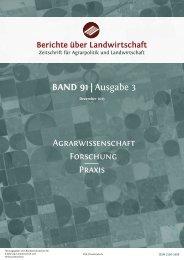 Diese PDF-Datei herunterladen - Berichte über Landwirtschaft