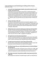 FAQ_Kartenproblematik 07-01-2010 KSK Soltau - Kreissparkasse ...