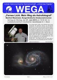 WEGA Juni 2010 - Linzer Astronomische Gemeinschaft