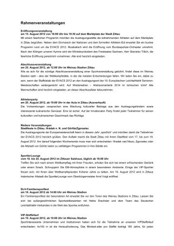 Rahmenveranstaltungen - Zittauer Gebirge