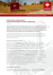 TEAM AUSTRIA ZIEL - Presse - engelbert strauss