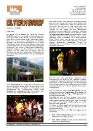 Elternbrief 1 2009/10 - Staufer Realschule